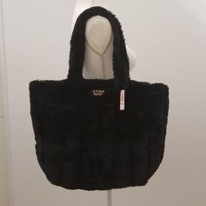 Victoria's secret faux fur Tote bag